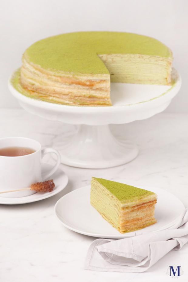 Lady M® Green Tea Mille Crêpes