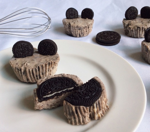 Mini Mickey Oreo Cheesecakes