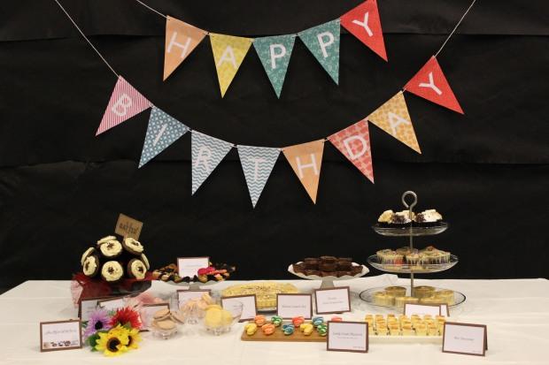 Birthday Dessert Table