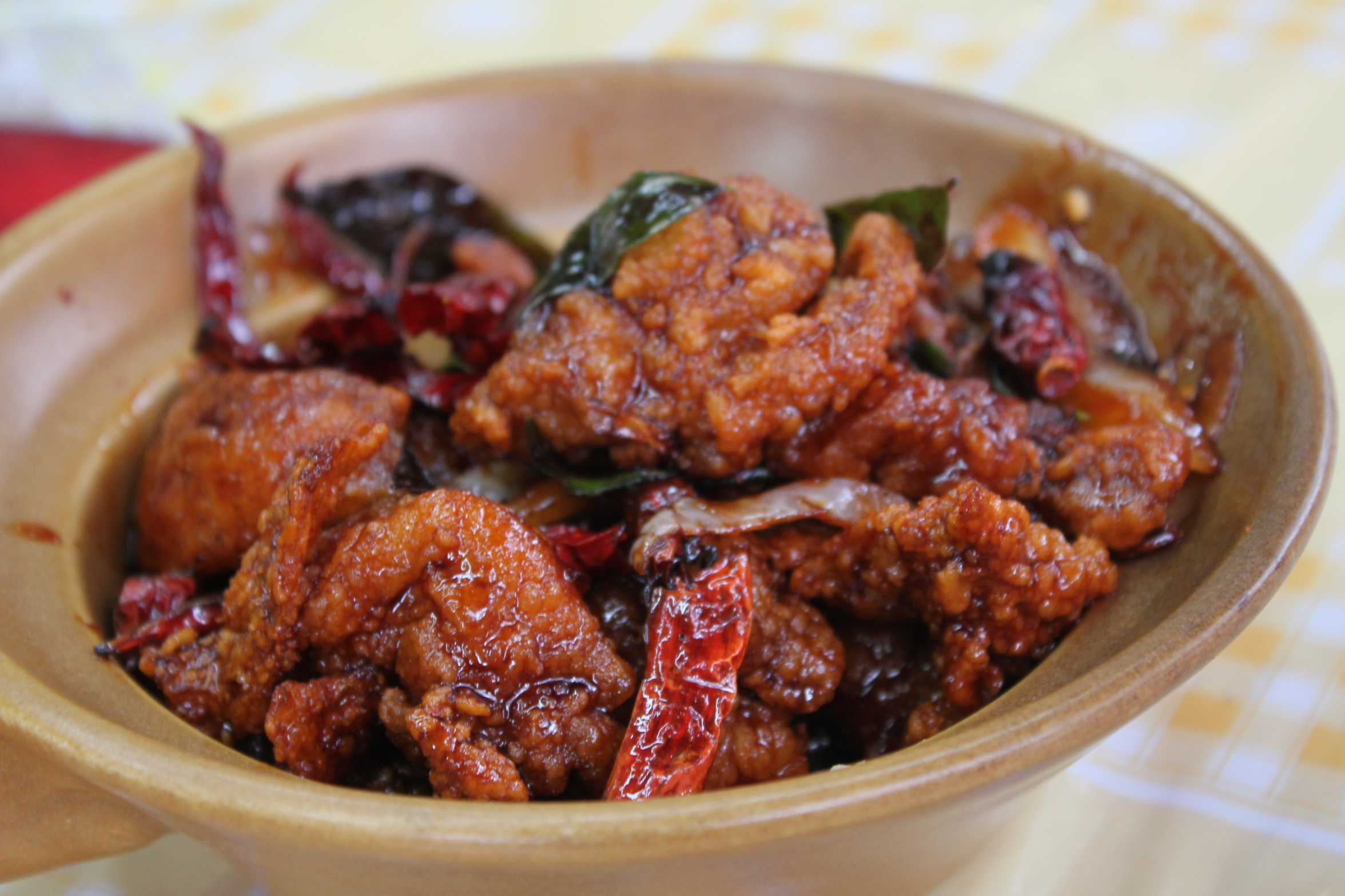 Gong Bao Chicken Recipe — Dishmaps